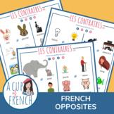 Les contraires en français - Opposites in French