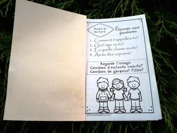 Les copains - Livre de lecture avec activités de compréhension (Lecture Guidée)
