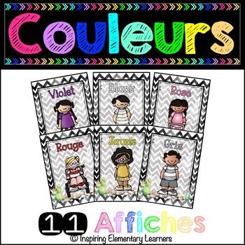 Les couleurs - 11 AFFICHES Cactus