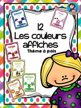 Les couleurs 12 Affiches
