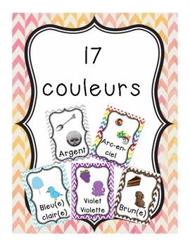 Les couleurs - 17 affiches