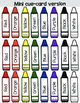 The Crayon Colours