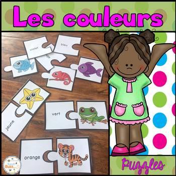 Les couleurs - 66 puzzles / French Colors
