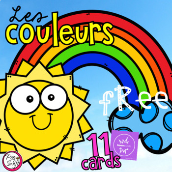 FREE FRENCH BOOM CARDS •Les couleurs