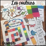 Les couleurs - Ensemble - French Colors/Colours - Bundle