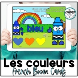 Les couleurs - FRENCH Colour Vocabulary Boom Cards