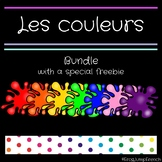 Les couleurs // French Colors Bundle