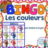 Les couleurs:  French Colour (Color) Bingo Game
