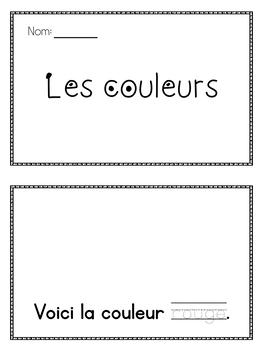 Les couleurs-French Colours