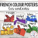 Les couleurs - affiches (FRENCH Colour Color posters)