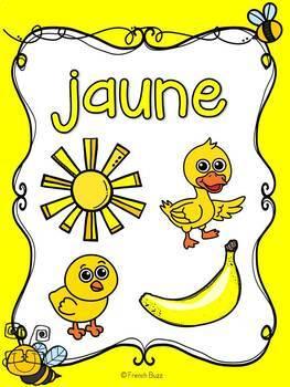 Les couleurs - affiches - abeilles - French Colors - Posters