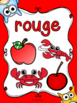 Les couleurs - affiches - hiboux - French Colors - Posters