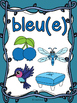 Les couleurs - affiches - singes (lianes) - French Colors