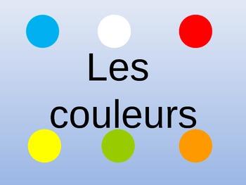 Les couleurs / colours
