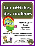Les couleurs (les affiches) - French colour posters and flashcards