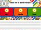 Les déterminants - Jeu de grammaire TNI interactif