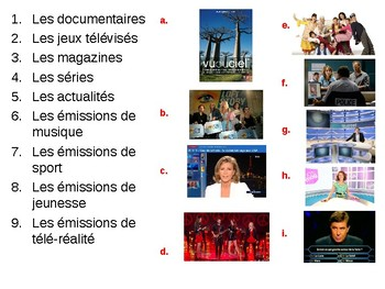 Les emissions / Television Programmes / Television / Opinions of television