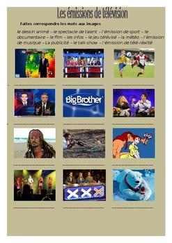 Les émissions de télévision / Television shows