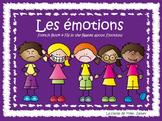 Les émotions - French Book about our emotions