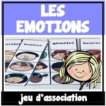 Les emotions - Jeu d'association