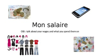 Les emplois / les petits jobs / Jobs / Part-time jobs / Pocket money