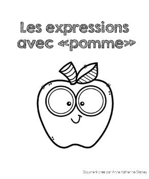 Les expressions avec pomme