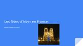 Les fetes d'hiver en France