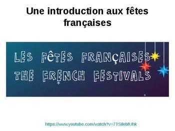 Les fetes en France / Festivals in France