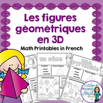 Les figures géométriques - 3D Solid Printables in French