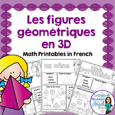 Les solides - 3D Solid Printables in French