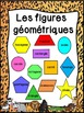 Les figures géométriques - Affiches - French shapes posters - Jungle, safari