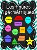 Les figures géométriques - Affiches - French shapes posters - Noir et chevron