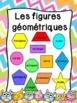 Les figures géométriques - Affiches - French shapes posters - Thème: hiboux