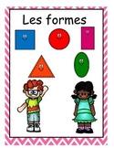 Les figures, les formes 2D  french immersion