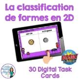 Les formes: French 2D Shapes Sorting Digital Task Cards - BOOM CARDS