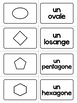 Les formes-French Shapes