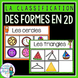 Les formes géométriques - 2D Shape Sorting Center in French
