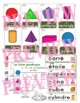 Les formes géométriques - French 2D and 3D shape cards and posters - 2 sizes