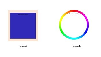 Les formes geometriques / Shapes in French