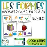 Les formes géométriques en 2D et 3D | Bundle