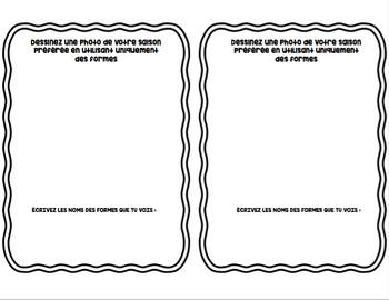 Les formes simples/simple shapes *MINI BOOK*