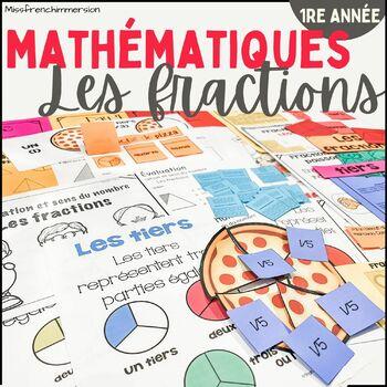 Les fractions - 1re année