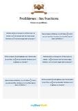 Les fractions 2 - Multiplications de fractions avec un entier -6e