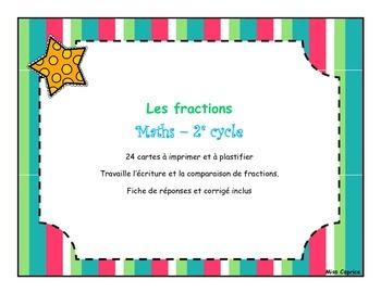 Les fractions - 2e cycle