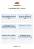 Les fractions 3 - Multiplications de deux fractions -6e