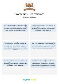 Les fractions 4 - Additions de fractions avec dénominateurs différents