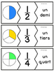 Les fractions - 47 puzzles - French fractions
