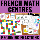 Les fractions - Fractions Centers French