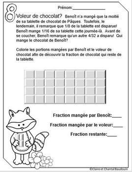 Les fractions Pâques