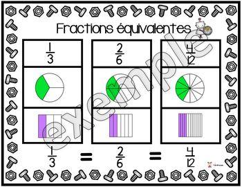 Les fractions équivalentes
